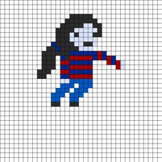 Adventure Time Marceline bead pattern