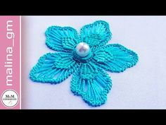 Macrame: Romanian point lace: flower's petal filling #malina_gm - YouTube Basic Embroidery Stitches, Hand Embroidery Videos, Hand Embroidery Flowers, Flower Embroidery Designs, Creative Embroidery, Bead Embroidery Jewelry, Beaded Embroidery, Mexican Embroidery, Point Lace