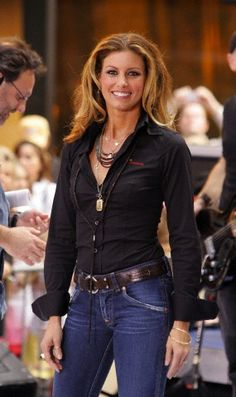 Just like your favorite pair of jeans, Faith Hill is timeless and seems to get more beautiful with age.