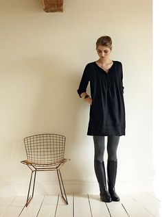 Dresses with Leggings and Boots | dress with tights and boots | Fabulous!!!!