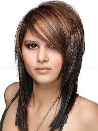 Image result for long hair with short layers on top