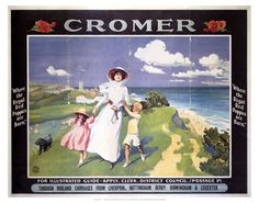 #Cromer #Vintage #Rail #Railway #Train #Poster #Posters #Prints #Print #Art #UK #Britain #British #Old #Travel #Norfolk www.vintagerailposters.co.uk