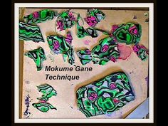 How to-Mokume Gane Technique -polymer clay - YouTube