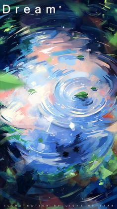ArtStation - X to xinxin liu Fantasy Art Landscapes, Fantasy Landscape, Fantasy Artwork, Wallpaper Collection, Environment Concept Art, Scenery Wallpaper, Anime Scenery, Aesthetic Art, Cute Art
