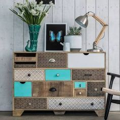 Emmeline Large Chest Of Drawers - Chest Of Drawers - Furniture - Furniture Refurbished Furniture, Upcycled Furniture, Furniture Making, Furniture Makeover, Painted Furniture, Diy Furniture, Furniture Design, Chester Drawers, Large Chest Of Drawers