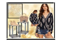 A fashion look from December 2016 featuring multi color blouse, short leather boots and beige purse. Browse and shop related looks. Stuart Weitzman, Michael Kors, Blouse, Polyvore, Stuff To Buy, Shopping, Collection, Tops, Design