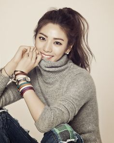 """ Im Jin Ah for Marie Claire Korea December. Most Beautiful Faces, Beautiful Asian Women, Beautiful People, Korean Beauty, Asian Beauty, Nana Afterschool, Im Jin Ah Nana, After School, Girl Pictures"