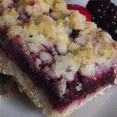 """Berry Crumb Bars 