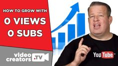 How To Grow with 0 Views and 0 Subscribers  It can be difficult to get started on YouTube when you start with 0 viewers and 0 subscribers. Fortunately, Derral Eves gives some very practical advice for how to grow your YouTube channel when all your stats are at 0. Check out our collab!