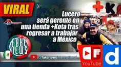Lucero será gerente en una tienda +Kota tras regresar a trabajar a México