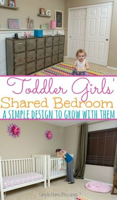 Toddler Girls' Bedro
