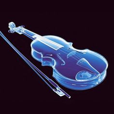 Electric Blue Strings