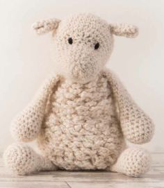 #crochet stuffed animal from the new book Edward's Menagerie