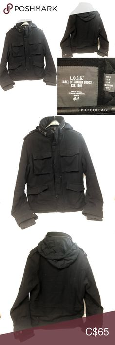 H&M Utility Jacket Men's Medium H&M Utility Jacket Men's Medium Preowned No holes, rips or tears. Please check out my other clothing and accessories you might be interested in. Thanks for stopping by!!! All Sales Final no returns or exchange. H&M Jackets & Coats Xo Jacket, Navy Blue Bomber Jacket, Jacket Men, Mens Shearling Jacket, Faux Leather Jackets, Uniqlo Jackets, Clothing Co, Military Fashion, Utility Jacket