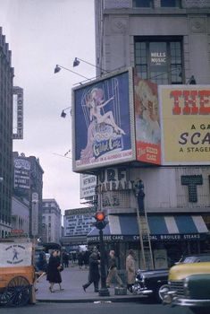 Manhattan: 49th Street and Broadway (c1950s)
