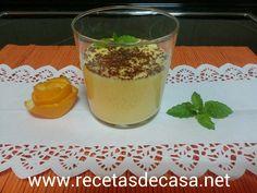 RECETAS DE CASA: Mousse de naranja en microondas