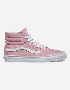 vans rosa altas