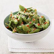 Itsu's spicy hot edamame beans | Vegetarian recipes