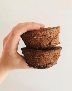 Muffins de banana y cacao sin gluten y sin azúcar - Green Vivant