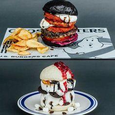 Japanese Burgers celebrating Ghostbusters.