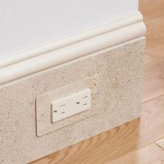 For baseboard outlet/receptacles. I spoke to this vendor and it their price point actually seems VERY reasonable. We could match them to our trim color.