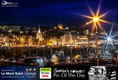 All's calm in St Peter Port this evening. Nice respite from those gales we've been having. #LoveGuernsey  http://chrisgeorgephotography.dphoto.com/#/album/cbc2cr/photo/21689600  Picture Ref: 20_02_14 — at St. Peter Port, Guernsey.