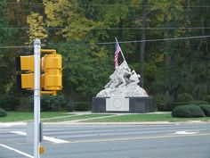 Entrance to Marine Base Quantico.  I remember driving by this place with my dad years ago when I was a kid and we lived back east.
