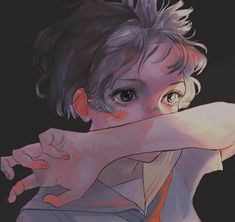 art desenho ideas for art drawings portraits awesome Art Manga, Art Anime, Pretty Art, Cute Art, Aesthetic Art, Aesthetic Anime, Art Sketches, Art Drawings, Awesome Drawings