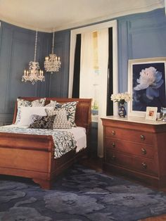 grange furniture - Bordeaux Louis Philippe Style Bedroom Furniture Collection
