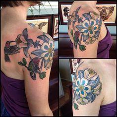 rocky mountain columbine tattoo beautiful pinterest columbine tattoo tattoo and colorado. Black Bedroom Furniture Sets. Home Design Ideas