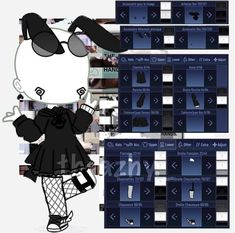 Cartoon Outfits, Anime Outfits, Girl Outfits, Night Club Outfits, Cute Anime Character, Character Outfits, Kawaii Drawings, Cute Drawings, Marshmello Wallpapers