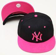 Gorra Plana rosa mujer - Snapback cap pink Women NEW YORK YANKEES