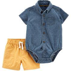 Carter/'s 9 month Baseball Bodysuit /& Pant Set Red White Blue Daddy/'s Team 01