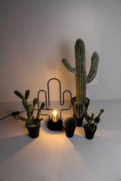 Lighten Up with Housevitamin #housevitamin#interior#lamp#cactus