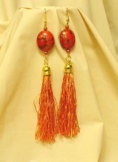 Kócos rojtok, különleges gyöngyök * Shaggy fringe, special beads Shaggy, Drop Earrings, Beads, Jewelry, Fashion, Jewerly, Beading, Moda, Jewlery