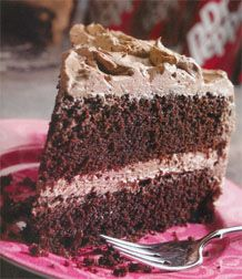 Dr. Pepper Texas Chocolate Cake Recipe ~ The soft drink's carbonation gives the layers exceptional rising power and a special blend of flavorings.