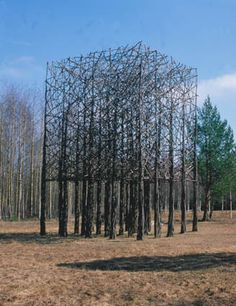 Forest Art! #ravenectar #art #installation #modern #contemporary #design
