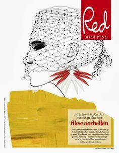Judith van den Hoek - RED magazine