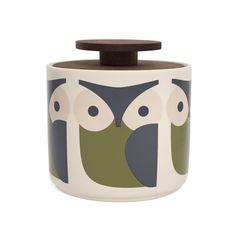 Discover the Orla Kiely Storage Jar - 1L - Owl at Amara
