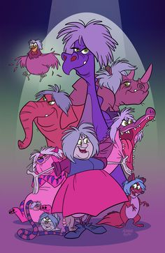 Marvelous Mad Madam Mim Menagerie by toonbaboon on DeviantArt Disney Animation, Disney Pixar, Disney And Dreamworks, Disney Cartoons, Disney Characters, All Disney Villains, Walt Disney, Disney Posters, Disney Marvel