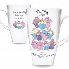Personal Touch Gifts - Cupcake Tall Latte, £12.99 (http://personaltouchgifts.co.uk/cupcake-tall-latte/)