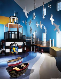 I want a really cool playroom for the twins!