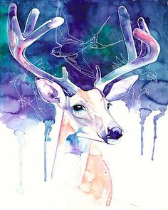 Stag by Laura Slade