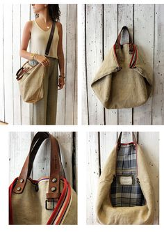 BOUQUET NEW Handmade Italian vintage fabric Tote