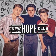 New Hope Club on Spotify New Hope Club, A New Hope, Hope Logo, Blake Richardson, Reece Bibby, Jonah Marais, New Sticker, Bruce Lee, Mp3 Song