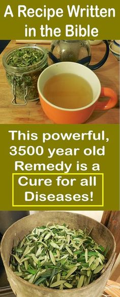 A Recipe Written in the Bible: This powerful, 3500 year old Remedy is a Cure for all Diseases! #fitness #beauty #hair #workout #health #diy #skin #Pore #skincare #skintags #skintagremover #facemask #DIY #workout #womenproblems #haircare #teethcare #homerecipe