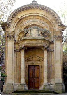 Saint Ephrem Syriac church, Paris.