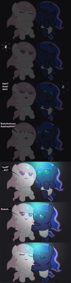 Fear of the Dark by Beavernator on DeviantArt My Little Pony Drawing, My Little Pony Comic, My Little Pony Pictures, Mlp Comics, Funny Comics, Celestia And Luna, Mlp Pony, Pony Pony, Childhood Characters