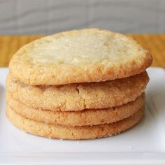 "Chewy Sugar Cookies I ""This was exactly what I was looking for! They were perfectly brown around the edges and soft and chewy in the middle."""
