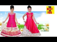 Latest Indian Dresses Collections 2018 - Indian Dresses for Women: 10 Girls DRESS DESIGN INDIAN 2018 fashion design d... Indian Dresses For Kids, Dresses Kids Girl, Toddler Girl Outfits, Designer Baby Clothes, Designer Dresses, Dress Designs For Girls, Baby Outfits Newborn, Dress Collection, Summer Dresses